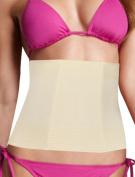 Unique Bargains Women's Elastic Body Shaper Trimmer Corset Girdle Waist Cincher Beige