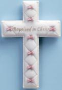 "Baby Nursery ""Baptised in Christ"" Baptism Wall Cross"