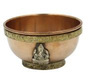 DharrmaObjects Copper Offering Bowl Incense Burner Holder
