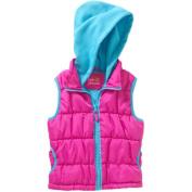Pink Platinum Girls 4-6X Lace Puffer Jacket