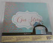 Recollections Our Story Scrapbook Album Kit