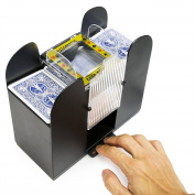 WYZworks Casino 6 Deck Automatic Playing Card Shuffler
