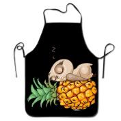 Owl Pineapple Emoji Cooking Apron Kitchen Apron Bib Aprons Chief Apron Home Easy Care For Men Women