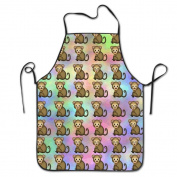 Monkey Emoji Cooking Apron Kitchen Apron Bib Aprons Chief Apron Home Easy Care For Men Women