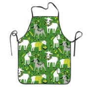 Little Goats Cooking Apron Kitchen Apron Bib Aprons Chief Apron Home Easy Care For Men Women