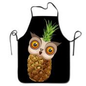 Cute Owl Pineapple Emoji Cooking Apron Kitchen Apron Bib Aprons Chief Apron Home Easy Care For Men Women