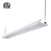 Hykolity 1.2m 42 Watt LED Shop Light Garage Workbench Ceiling Lamp 5000K Daylight White 3700 Lumens Linkable Lamp Fixture 64w Fluorescent Equivalent