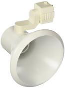 Juno Lighting R552WH Trac-Lites Flared Steps Line Voltage 75W PAR30 Lamp Holder, White