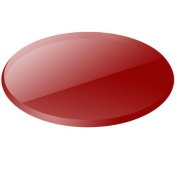 Nora Track Light NM-100R/MR16 - Red - Glass Lens - MR16 - Compatible with Halo Track