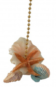 Starfish Seashells Sea Shell Beach Fan Light Pull