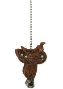 Cowboy Western horse Saddle Ceiling Fan Pull chain extender