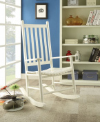 1PerfectChoice Laik White Rocking Chair