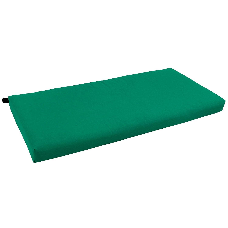Emerald-Blazing-Needles-Solid-Twill-Loveseat-Cushion-110cm-x-48cm-Emerald