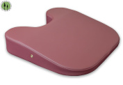 DevLon NorthWest Massage Table U-Wedge + Breast Bolster Cushion + Feminine Pillow + Burgundy