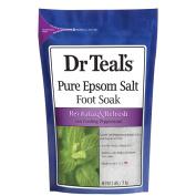 Dr Teal's Softening Foot Soak Salt, 0.9kg.