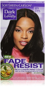 Dark and Lovely Fade Resistant Rich Conditioning Colour, No. 371 Jet Black