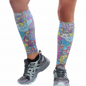 Zensah Compression Leg Sleeves – Helps Shin Splints, Leg Sleeves for Running