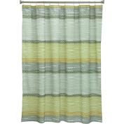 Bacova Guild Wavy Stripe Shower Curtain