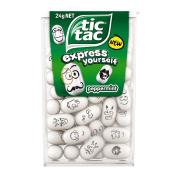 Tic Tac Peppermint Flat 24g