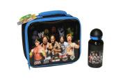 WWE Wrestling Kids Lunch Box Lunchbox Lunch Bag & Sports Drinks Bottle For Children School