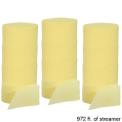 Crepe Paper Party Streamer Decorations 3.7m - 25m Rolls for Party Wedding Shower DIY
