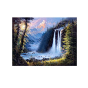 Awakingdemi 5D DIY Diamond Painting, Autumn Beautiful Scenery Needlework Cross Stitch Kits Painting Embroidery for Home Decor