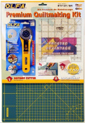 Olfa rty-st/ cg 45mm rotary cutter/ self healing mat/ quilt ruler making set