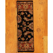 Natural Area Rugs Sydney Classic Persian Black Stair Tread
