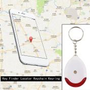 LED Light Torch Remote Sound Control Lost Key Finder Locator Keychain Keyring
