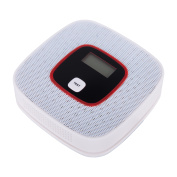 Battery-Powered CO Detector Carbon Monoxide Detector LCD Alarm Alert Poisoning Monitor