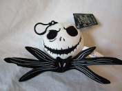 "THE NIGHTMARE BEFORE CHRISTMAS "" JACK SKELLINGTON "" BACKPACK CLIP KEY CHAIN PLUSH TOY"