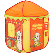 With the indoor tent playground equipment ball for the doggy child peekaboo