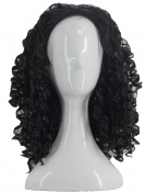 Angelaicos Unisex Wavy Halloween Costume Full Wig Long Dark Brown