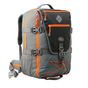 Equator Backpacking Cabin Luggage - Flight Approved Hand luggage backpack, with integrated Rain cover, waist and chest straps.