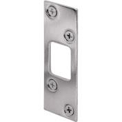 Prime-Line High Security Deadbolt Strike 7.6cm 7.6cm - 1.6cm H X 2.5cm - 0.6cm W Nickle Plated Steel