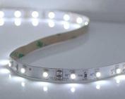 "LytheLED™ 24W, Bright White LED Strip, ""3528 SMD"", 300 LED 5M, 16.4 Feet, Flexible LED Strip Light, 12V 2A 60LED/M"