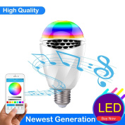LK & smart Bluetooth Smart LED Bulb, Speaker Bulb, APP Controlled Dimmable Multicoloured Lights