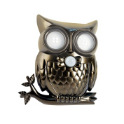 Adjustable Motion Activated LED Lighted Hooting Owl