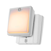 Dual Model Stick Anywhere LED Night Light with Smart Wireless Motion Sensor Battery-Powered with Automatic Shut Off Timer Sleep Friendly-Amber Colour,white