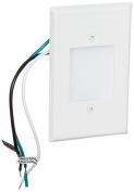 Elco Lighting ELST66W 120V LED Mini Step Light with Smooth White Acrylic Lens