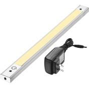 "12"" Under Cabinet Lighting 3000K - Under Counter Lighting and Under Cabinet LED Lighting by Lux Light with 12V Adapter and Sensor Switch"