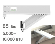 Jeacent Universal AC Window Air Conditioner Support Bracket Light Duty, Up to 39kg, for 5,000-10,000 BTU