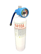 R410a Refrigerant 830ml Disposable One Step Can With Gauge & Hose 0.6cm Connexion