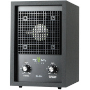 Zen Living ZL-3C+ Ionic Air Purifier For Smokers With Oversized Carbon Filter, Dual Plate Ozone Generator, & Ioniser