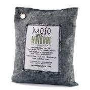 Moso Natural Air Purifying Bag, 200-G, Charcoal Grey