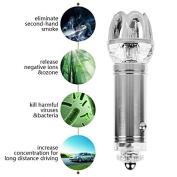 LeaningTech Car Air Purifier Plus BONUS Car Air Freshener Air purifier for smokers, Odour Eliminator Cigarette, Pet Smell & Removes Bacteria | Ideal for Your Car, Truck & RV