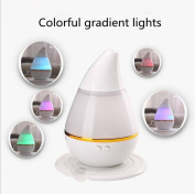 GMJF Aromatherapy Essential Oil Diffuser, Ultrasonic Cool Mist Air Humidifier with 7 Changing LED Colours, Waterless Auto Shut-off for car and room