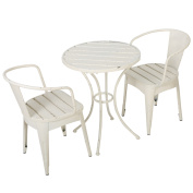 Mable Childrens Shabby Chic Table Chat Set