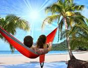 Ktaxon Camping Hammock- Easy Hanging 2 Person Double Hammock Chair banana hammock family hammock patio swing, 270kg