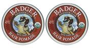 Badger Man Care Hair Pomade, 60ml tin